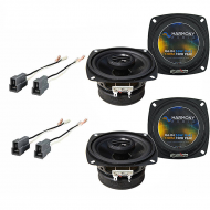 Mitsubishi Precis 1987-1989 Factory Speaker Replacement Harmony (2) R4 Package