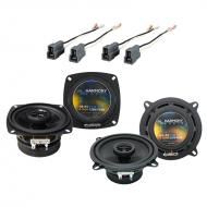 Mitsubishi Precis 1990-1994 Factory Speaker Replacement Harmony R4 R5 Package