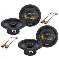 Nissan Altima 2002-2016 Factory Speaker Replacement Harmony (2) R65 Package New