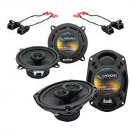Harmony Audio Compatible With 1998-2002 Oldsmobile Intrigue HA-R5 HA-R69 New Factory Speaker Repl...