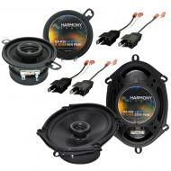 Plymouth 400 1982-1983 Factory Speaker Upgrade Harmony R35 R68 Package New