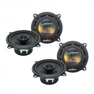 Plymouth Acclaim 1989-1995 Factory Speaker Upgrade Harmony (2) R5 Package New