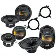 Plymouth Breeze 1996-1999 Factory Speaker Upgrade Harmony Speakers Package New