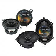 Plymouth Caravelle 1985-1988 OEM Speaker Upgrade Harmony R35 R68 Package New