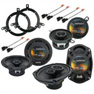 Plymouth Neon 1995-1999 Factory Speaker Replacement Harmony Upgrade Package New
