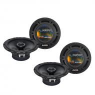Fits Subaru Outback 2000-2009 Factory Speaker Upgrade Harmony (2) R65 Package