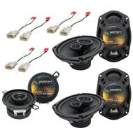 Harmony Audio Compatible With 2002-06 Toyota Camry HA-R69 HA-R35 New Factory Speaker Replacement ...