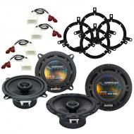 Toyota Corolla 1998-2000 Factory Speaker Upgrade Harmony R5 R65 Package New