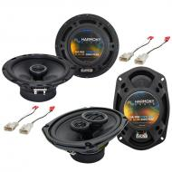 """Harmony Audio Compatible with 2003-2008 Toyota Corolla HA-R65 6.5"""" Replacement 300W Speakers..."""