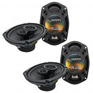 Oldsmobile Alero 1999-2000 OEM Speaker Upgrade Harmony R46 R69 Package New