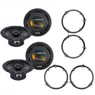 Harmony Audio R65 Factory Replacement Speaker Upgrade Package Compatible with Volkswagen Jetta 19...