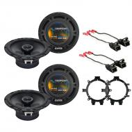 "Harmony Audio Bundle Compatible With 2002-2006 Chevy Avalanche HA-R65 6.5"" HA-R5 5.25""F..."