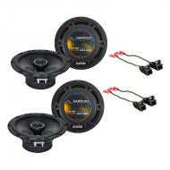 Cadillac Escalade 1999-2002 Factory Speaker Upgrade Harmony (2) R65 Package New