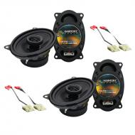 Harmony Audio Compatible With 1988-94 Chevy CK Truck (Full Size) (2) HA-R46 New Factory Speaker R...