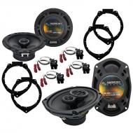 Harmony Audio Compatible With 2006-12 Chevy HHR R-65 R-69 New Factory Speaker Replacement Package
