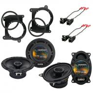 Harmony Audio Compatible With 1994-01 Chevy S-10 Truck HA-R46 And HA-R65 OEM Speaker Replacement ...