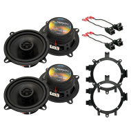 Harmony Audio Compatible With 2007-13 Chevy Silverado Truck (2) HA-R5 New Factory Speaker Replace...
