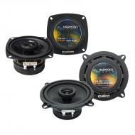 Compatible with Alfa Romeo 164 1990-1994 Factory Speaker Upgrade Harmony R4 R5 Package New…