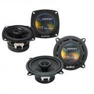 Compatible with Alfa Romeo Milano 1986-1989 Factory Speaker Upgrade Harmony R4 R5 Package New…