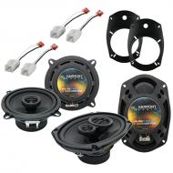 Harmony Audio Compatible With 2002-08 Dodge Ram 1500 Truck HA-R69 And HA-R5 New Factory Speaker R...