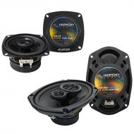 Eagle Summit 1993-1995 Factory Speaker Upgrade Harmony R4 R69 Package New