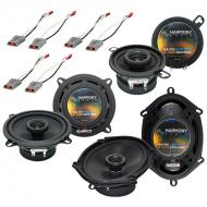Harmony Audio Bundle Compatible with 1986-1993 Ford Mustang HA-R5 HA-R35 HA-R68 New Factory Speak...