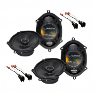Ford Explorer 2002-2005 Factory Speaker Replacement Harmony (2) R68 Package New