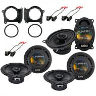 Harmony Audio Compatible With 1995-01 GMC Jimmy (2) HA-R65 HA-R46 New OEM Speaker Replacement Upg...