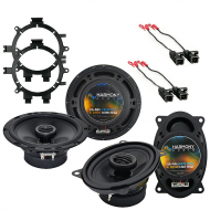 Harmony Audio Compatible With 1999-06 GMC Sierra HA-R5 And HA-R46 New Factory Speaker Replacement...