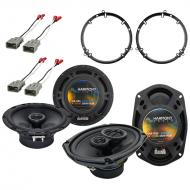 Harmony Audio R65 R69 Factory Replacement Speaker Package Compatible with Honda Accord 1998-2002