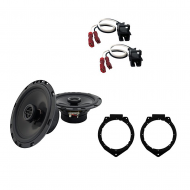 Harmony Audio Compatible With 2006-12 Chevy HHR R-65 New Front Door Speaker Replacement Upgrade