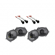 Mazda 3 2004-2009 Kicker Factory 5x7 6x8 Coaxial Speaker Replacement (2) CS684 Package New