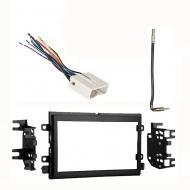 Mercury Mountaineer 2006 2007 2008 2009 2010 Double DIN Stereo Harness Radio Install Dash Kit