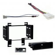 Nissan Rogue SV 2012 2013 Multi DIN Stereo Harness Radio Install Dash Kit