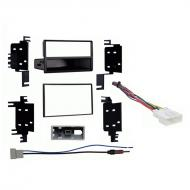 Nissan Versa 2012 2013 Multi DIN Stereo Harness Radio Install Dash Kit Package