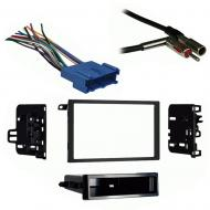 Oldsmobile Alero 1999 2000 Double DIN Stereo Harness Radio Install Dash Kit Package