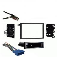 Oldsmobile Bravada 1998 1999 2000 2001 Double DIN Stereo Harness Radio Install Dash Kit