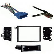 Oldsmobile Cutlass 1997 1998 1999  Double DIN Stereo Harness Radio Install Dash Kit