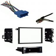 Oldsmobile Intrigue 1998 1999 2000 2001 Double DIN Stereo Harness Radio Install Dash Kit
