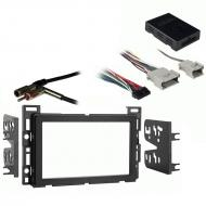 Pontiac Torrent 2006 Double DIN Stereo Harness Radio Install Dash Kit Package