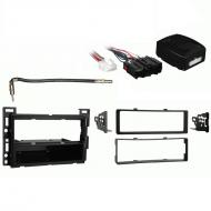 Saturn Ion 2006 2007 Single DIN Stereo Harness Radio Install Dash Kit Package