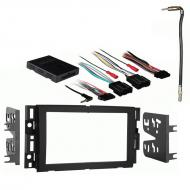 Saturn Outlook 2007 2008 2009Double DIN Stereo Harness Radio Install Dash Kit