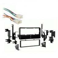 Scion xD 2008 2009 2010 2011 2012 2013 2014 Single DIN Aftermarket Stereo Harness Radio Install D...