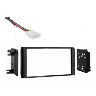 Subaru Forester 2009 2010 2011 2012 2013 without OE NAV Double DIN Stereo Harness Radio Dash Kit