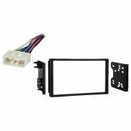 Chevy Aveo Hatchback 2007 2008 Double DIN Stereo Harness Radio Install Dash Kit
