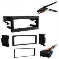 Chevy CK Pickup 1995 1996 1997 1998 1999 2000 Single DIN Stereo Harness Radio Install Dash Kit Pa...