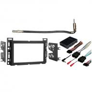 Chevy Cobalt 2007 2008 2009 2010 Double DIN Stereo Harness Radio Install Dash Kit Package