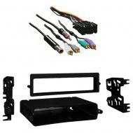 Chevy Corvette 1990 1991 1992 1993 1994 1995 1996  Single Double DIN Stereo Harness Radio Install...