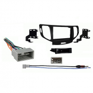 Acura TSX 2009 2010 2011 2012 2013 2014 without NAV Single DIN Stereo Harness Radio Install Dash ...