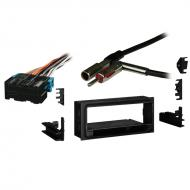 Chevy S 10 Pickup 1998 1999 2000 2001 Single DIN Stereo Harness Radio Install Dash Kit Package